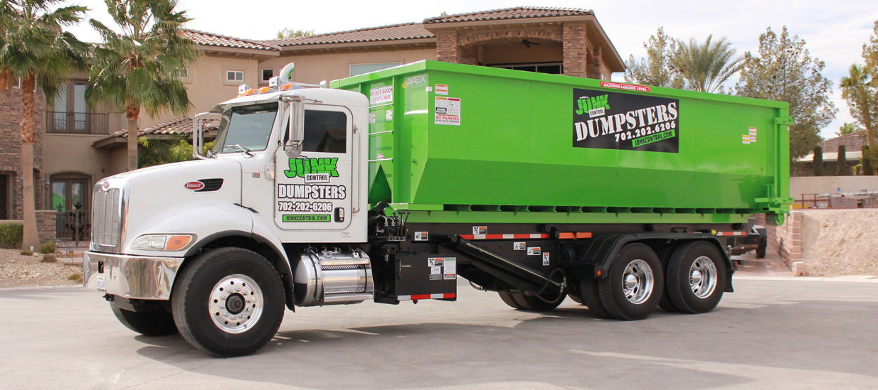 Dumpster Rental by Junk Control of Las Vegas and Henderson, NV