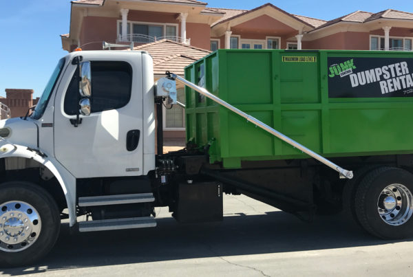 Junk Control Las Vegas - How To Rent A Dumpster