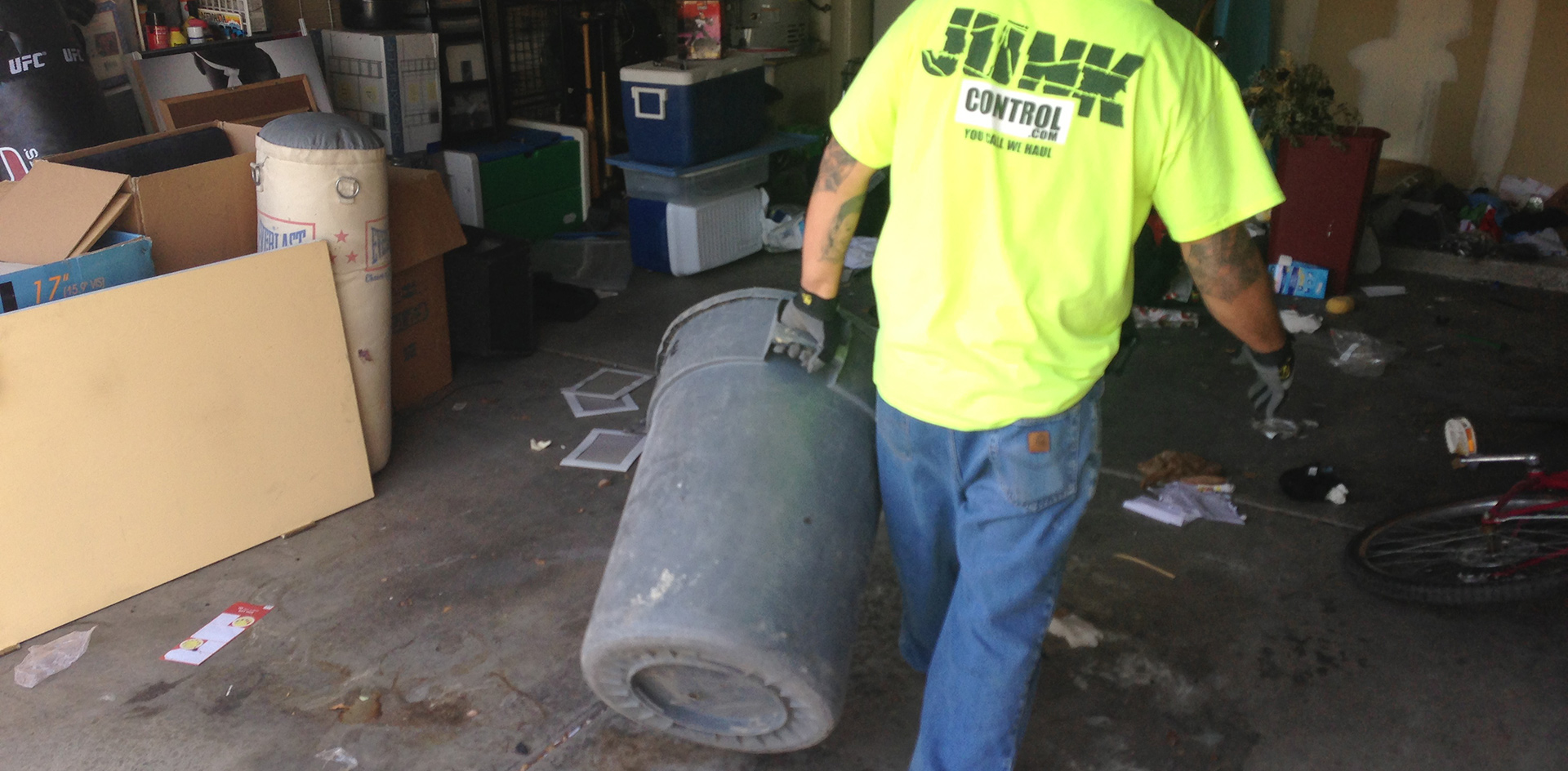 Junk Control Las Vegas - Knowing The Right Time To Hire Junk Removal Services