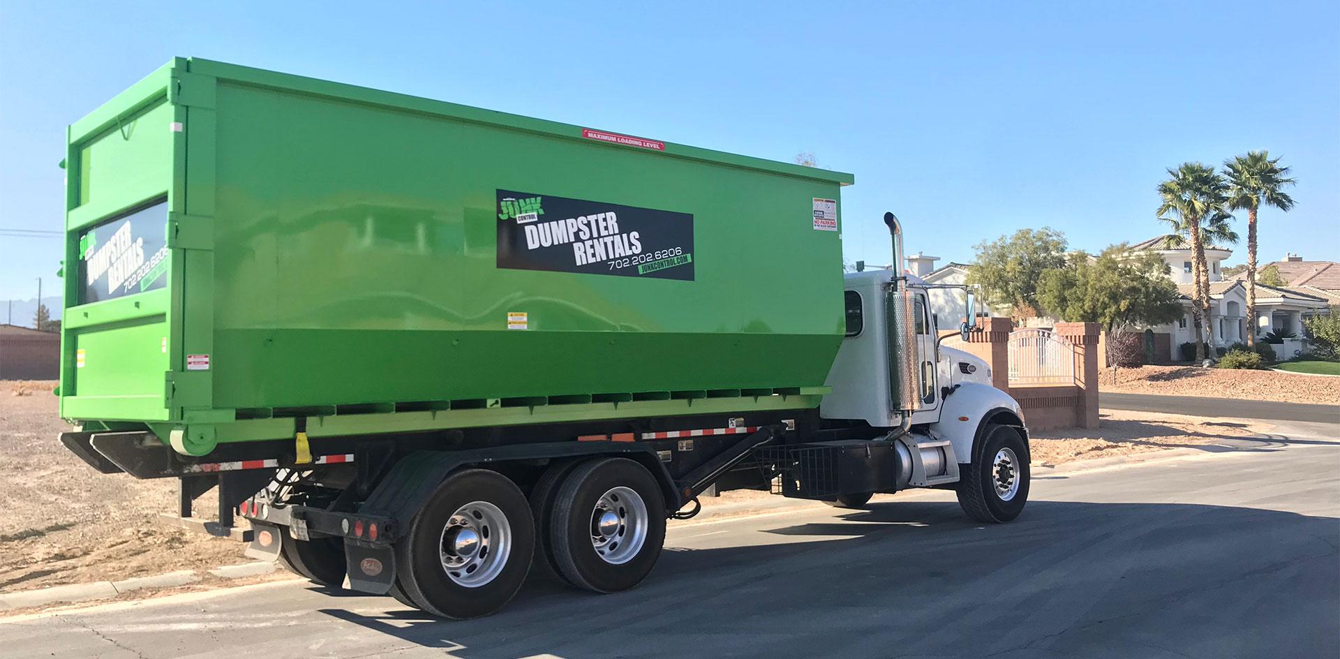 Junk Control Las Vegas - Top 5 Reasons To Choose Junk Control Dumpster Rentals In Las Vegas
