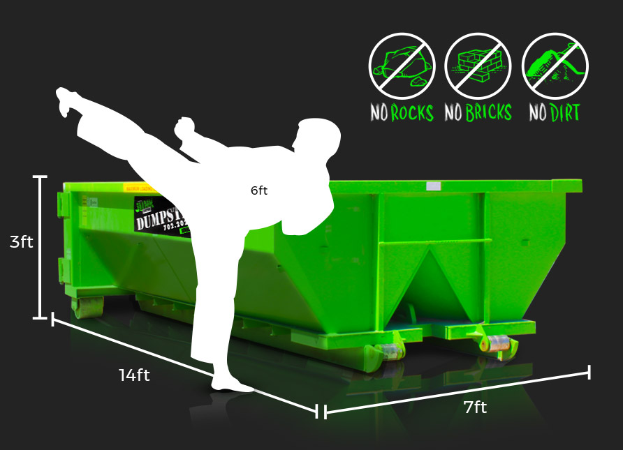 10 Yard Dumpster Rental Junk Control