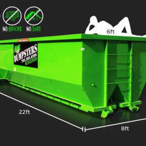 30-Yard Dumpster Rental by Junk Control of Las Vegas and Henderson, NV