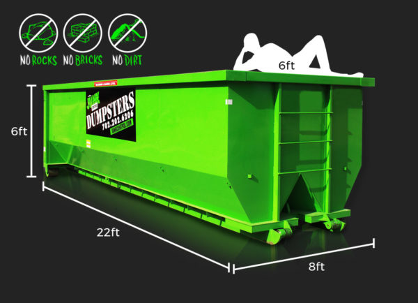 30-Yard Dumpster Rental by Junk Control of Las Vegas and Henderson, NV